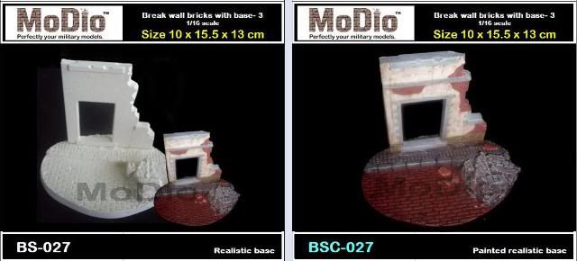 MoDio European Arch with Base Kit # BM-004  BS027