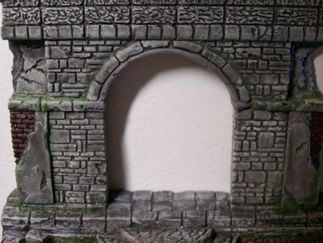 MoDio European Arch with Base Kit # BM-004  Basicpaintandweatheringwall