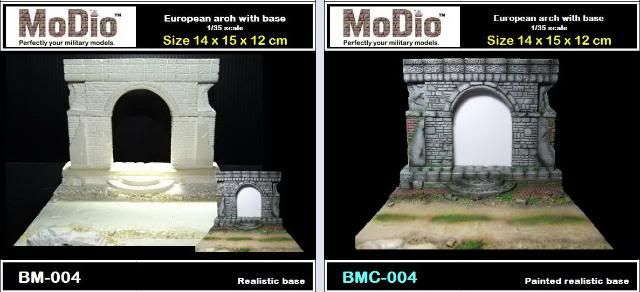 MoDio European Arch with Base Kit # BM-004  EuropeanArchwithBaseBM004