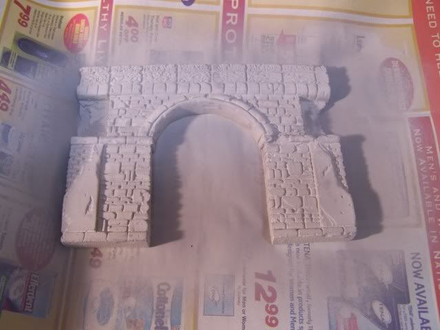 MoDio European Arch with Base Kit # BM-004  Topwithsecondcoatofprimer