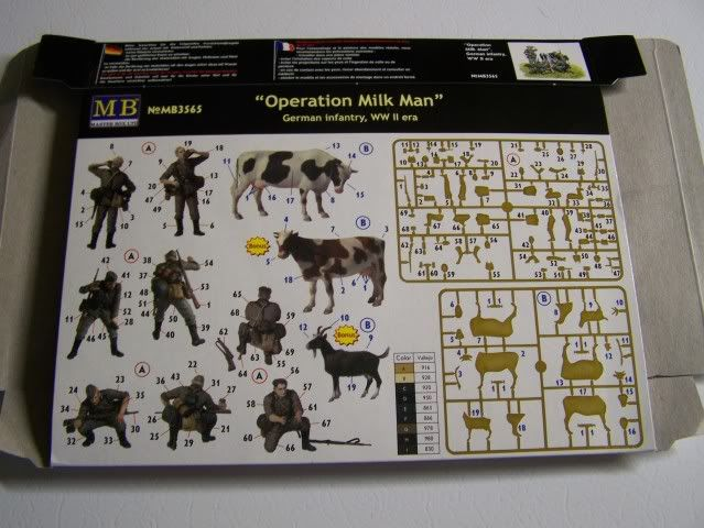 """Master Box """"Operation Milk Man"""" German Inf. WW-II OperationMilkManback"""