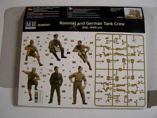 Master Box Rommel and German Tank Crew Rommelandtankcrewback