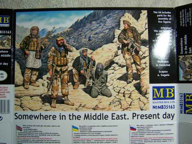 Master Box Somewhere in the Middle East – Present Day in 1/35th Scale Kit # MB35163 SomewhereintheMiddleEast-PresentDayboxfront_zpsb3417133