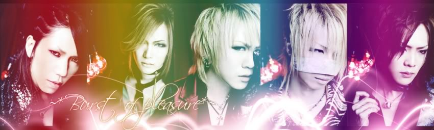~★♥ BURST OF PLEASURE ♥★~ Banner