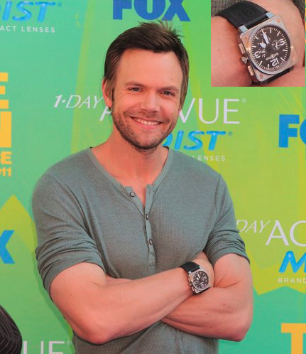 Bell & Ross & People JoelMcHale