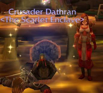 We all knew Dathran was a turkey Dathturkey