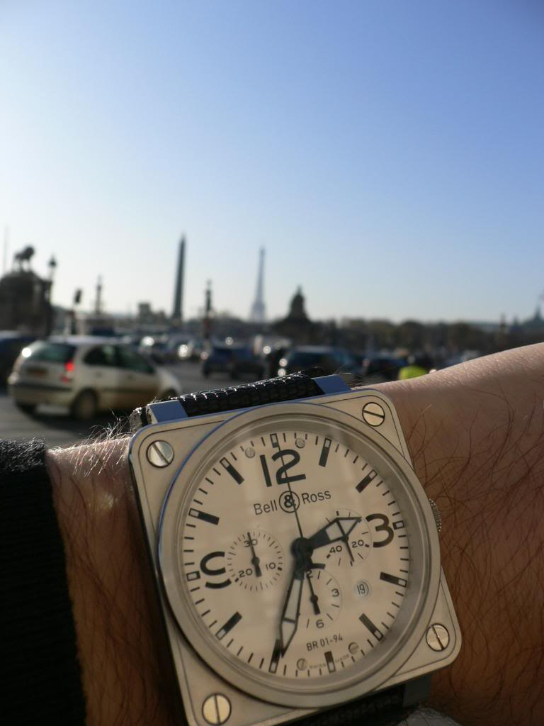 "le ""Wristshot Bell&Ross over the world"" GTG23"