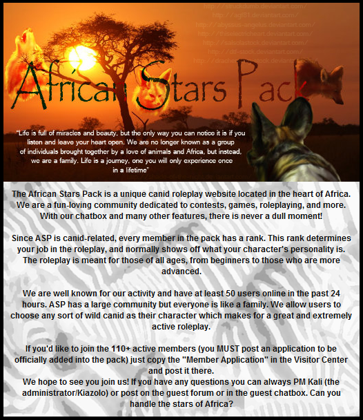 The African Stars Pack Aspadvertisement