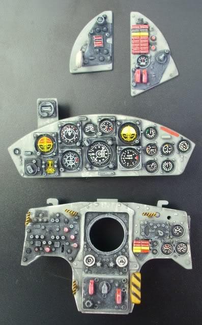 F-104G Cockpit, 1:12 Italeri IMG_6015