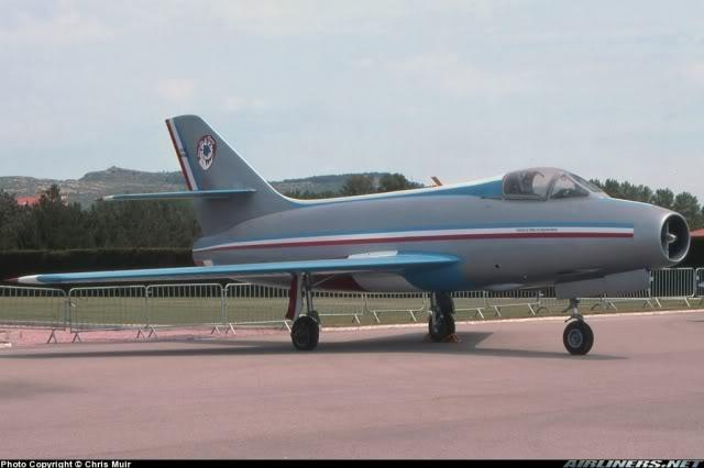 Dassault MD-454 Mystere IV A ''Patrouille de France'' (Revell 1:72) 0872330