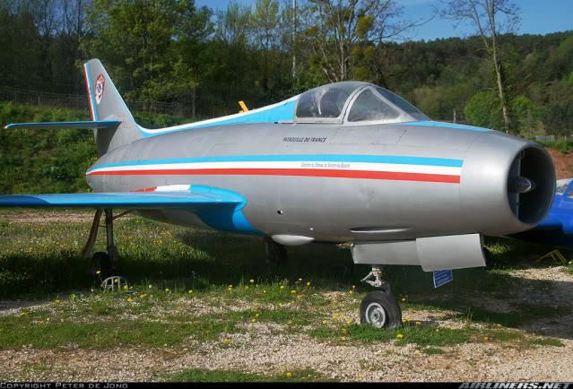 Dassault MD-454 Mystere IV A ''Patrouille de France'' (Revell 1:72) 1489732