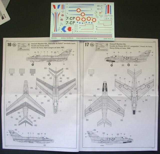 Dassault MD-454 Mystere IV A ''Patrouille de France'' (Revell 1:72) IMG_6388