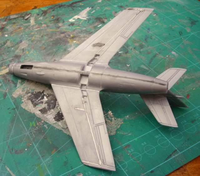 Dassault MD-454 Mystere IV A ''Patrouille de France'' (Revell 1:72) IMG_6830