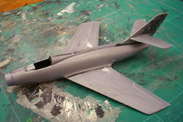 Dassault MD-454 Mystere IV A ''Patrouille de France'' (Revell 1:72) IMG_6831