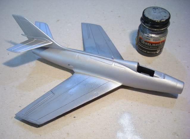 Dassault MD-454 Mystere IV A ''Patrouille de France'' (Revell 1:72) IMG_6850