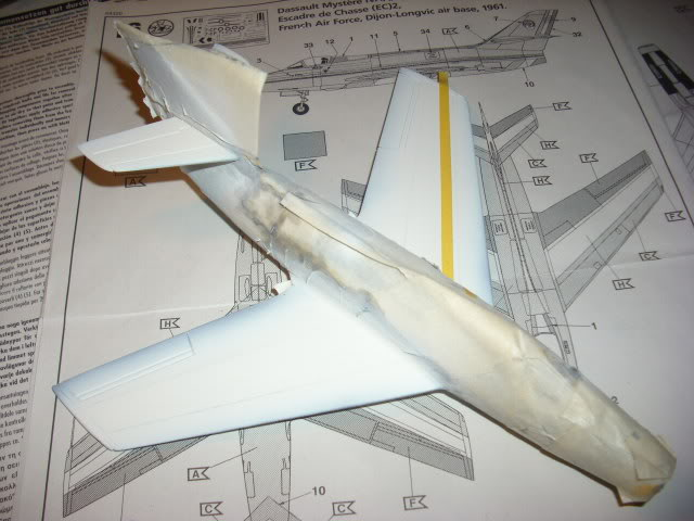Dassault MD-454 Mystere IV A ''Patrouille de France'' (Revell 1:72) IMG_7026