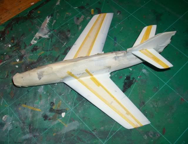 Dassault MD-454 Mystere IV A ''Patrouille de France'' (Revell 1:72) IMG_7029