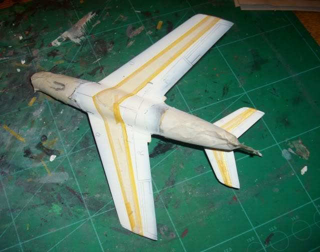 Dassault MD-454 Mystere IV A ''Patrouille de France'' (Revell 1:72) IMG_7032