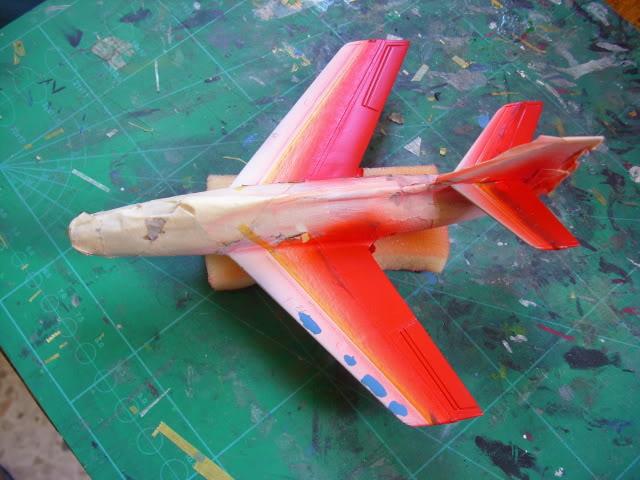 Dassault MD-454 Mystere IV A ''Patrouille de France'' (Revell 1:72) IMG_7117