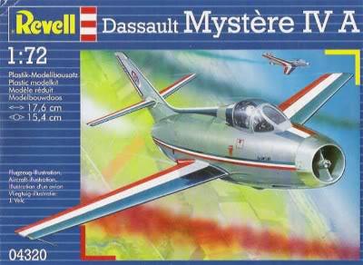 Dassault MD-454 Mystere IV A ''Patrouille de France'' (Revell 1:72) Revell_mystere-iva
