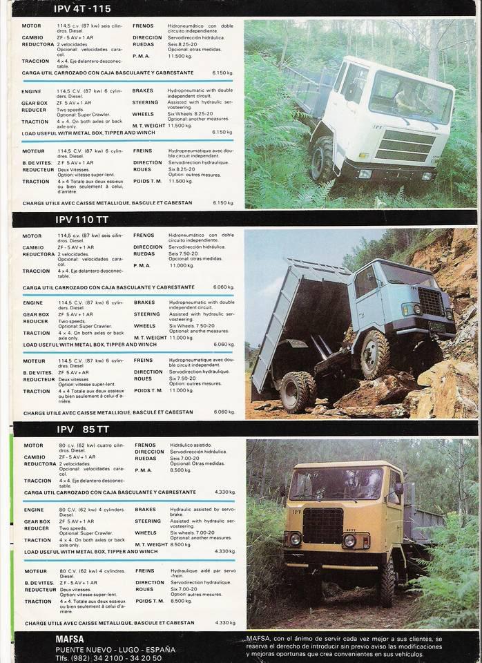 Carrocetas y camiones IPV Ipv9fp