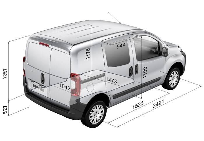Fiat Fiorino Qubo Trekking Fpsa07