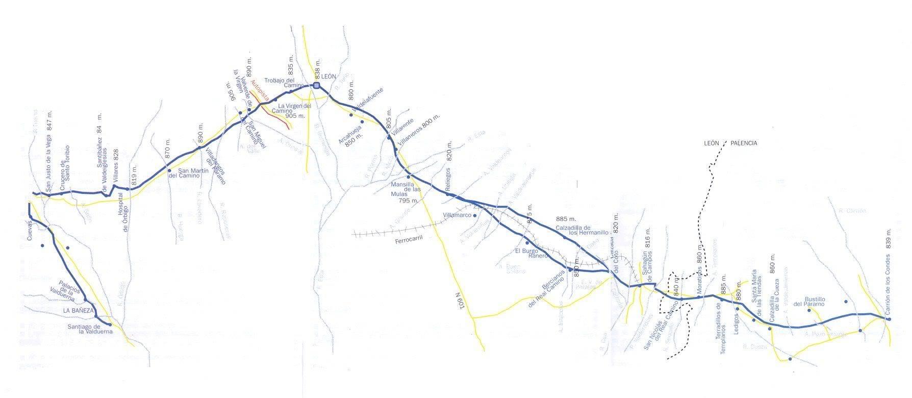 Camino de Santiago Mapa6