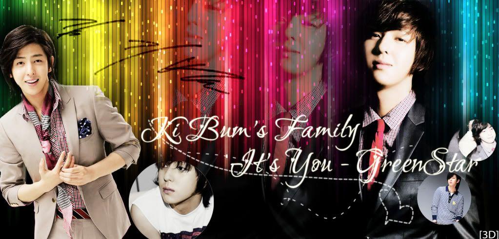 -'๑'- KimKiBum's Family -'๑'-Snow white- Green star-'๑'- Banbum-1