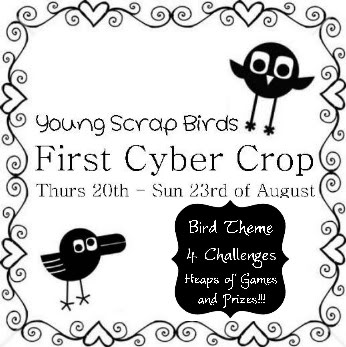 Young Scrap Birds FIRST Cybercrop!! 1stCC