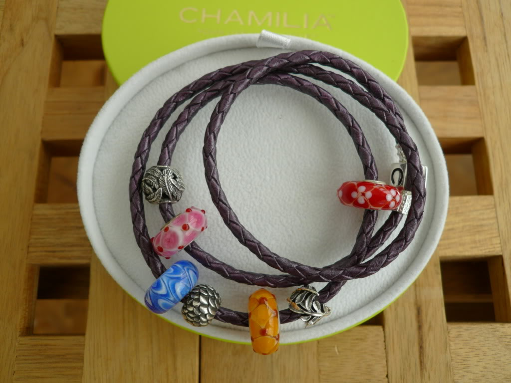 Chamilia braided leather bracelets 2a228eed