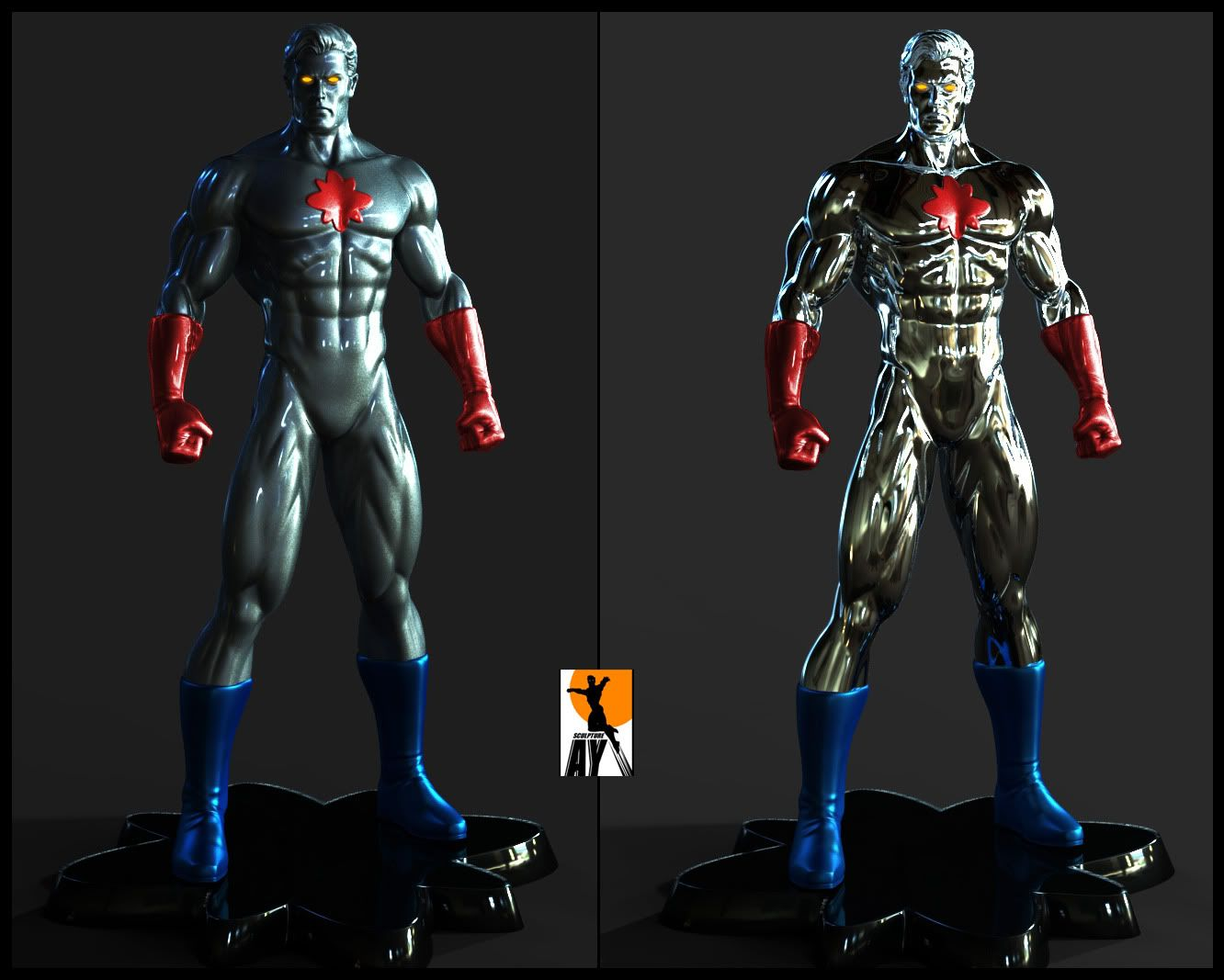 Les travaux de AY sculpture - Page 6 Captainatom