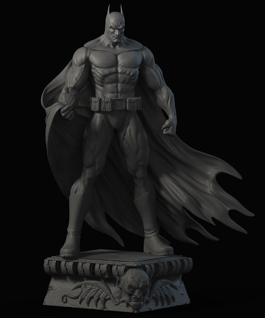 Les travaux de AY sculpture - Page 7 Batmantest1
