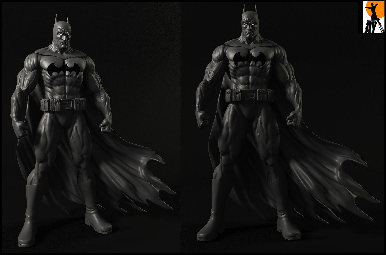 Les travaux de AY sculpture - Page 7 Bats-1