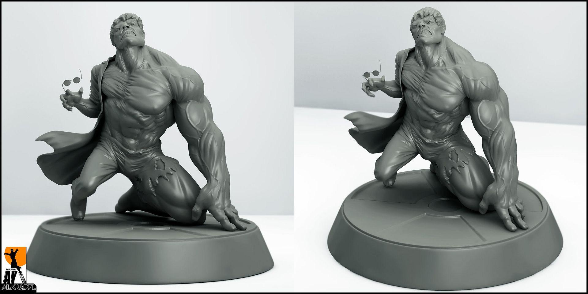 Les travaux de AY sculpture - Page 7 HulkTransform