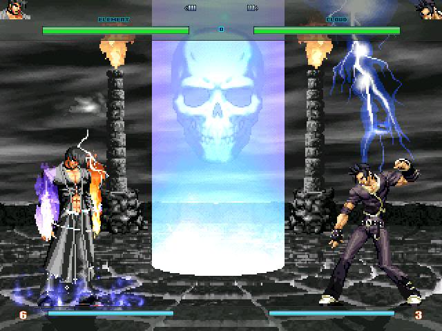 [HI-RES]The altar of being KOF Orochi Stage edit Mugen032323