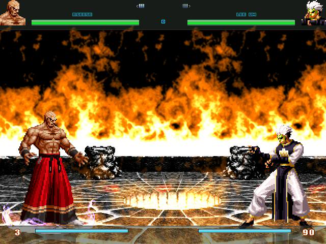 KOF Matter Mugen Time To Say Godbye Mugen1-4