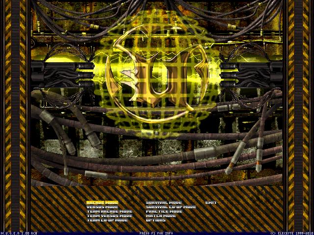 Screenpack Unreal II The Awakening - Página 2 Mugen009