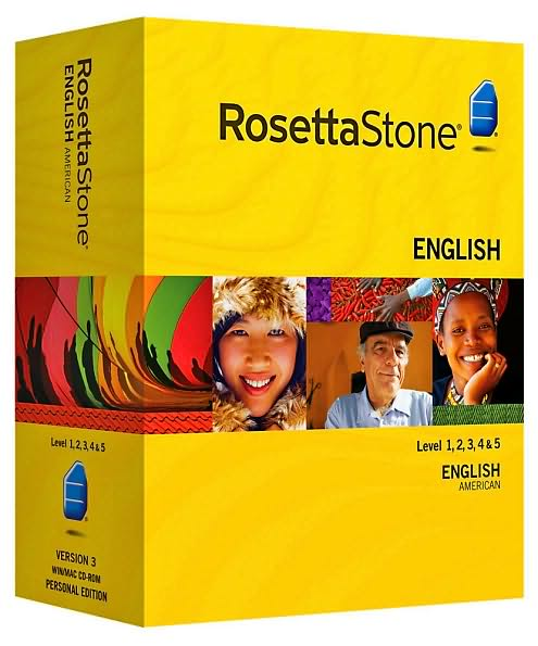 Rosetta Stone RosettaStoneV3-EnglishAmerican