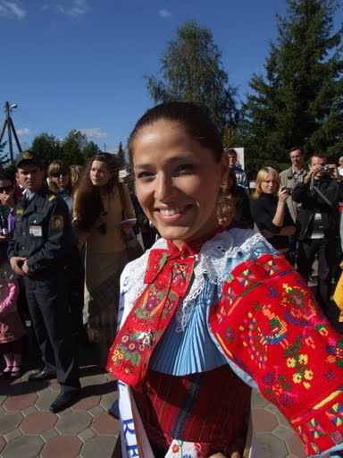 Lea Sindlerova (SLOVAK REPUBLIC EARTH and INTERCONTINENTAL 2009) Belarus216