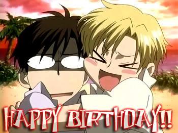 Feliz cumpleaños Sadao! Ouranhighschoolhostclub