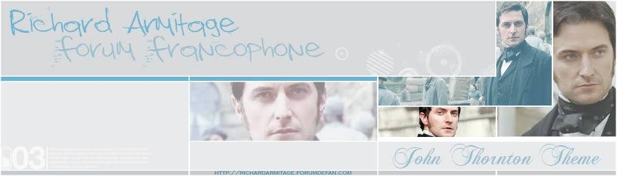 Richard Armitage Forum Francophone