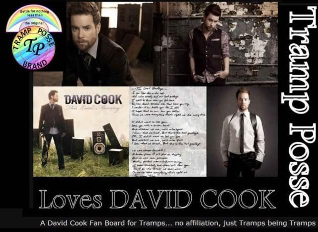 Tramp Posse Loves David Cook