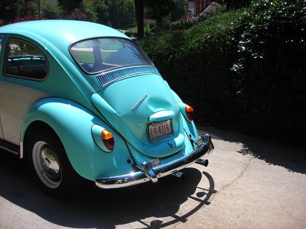 My former '67 Beetle got smacked 67crash2