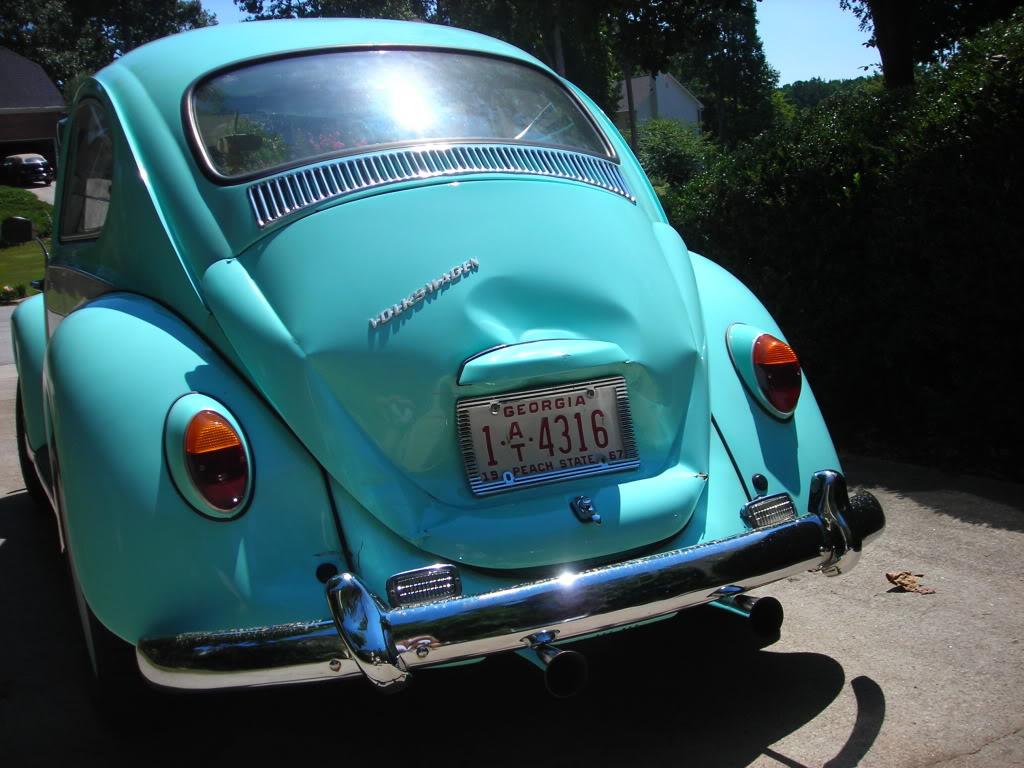 My former '67 Beetle got smacked 67crash3