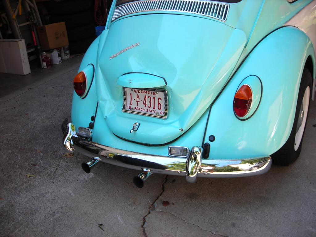 My former '67 Beetle got smacked 67crash8