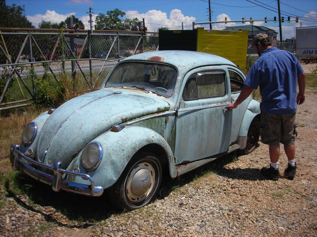What did you do to your volkswagen today? 64beetle4