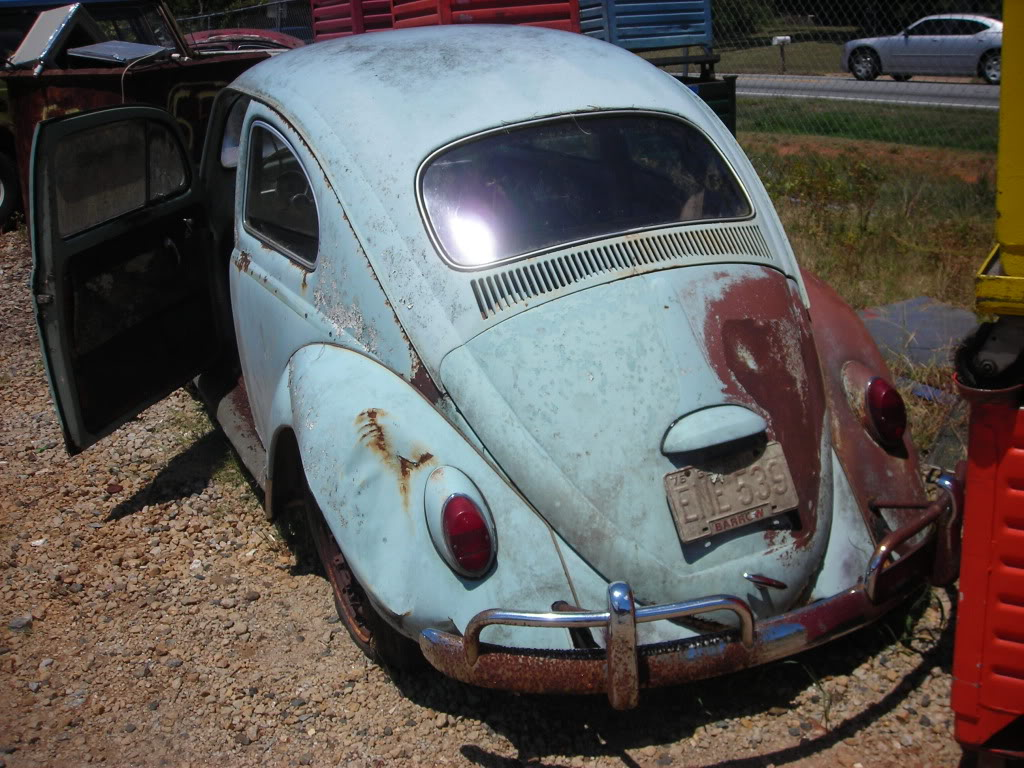 What did you do to your volkswagen today? 64beetle5