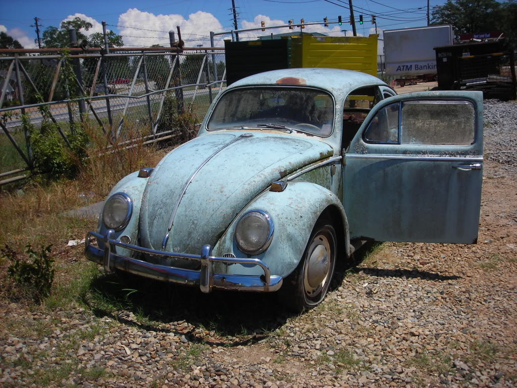 What did you do to your volkswagen today? 64beetle7