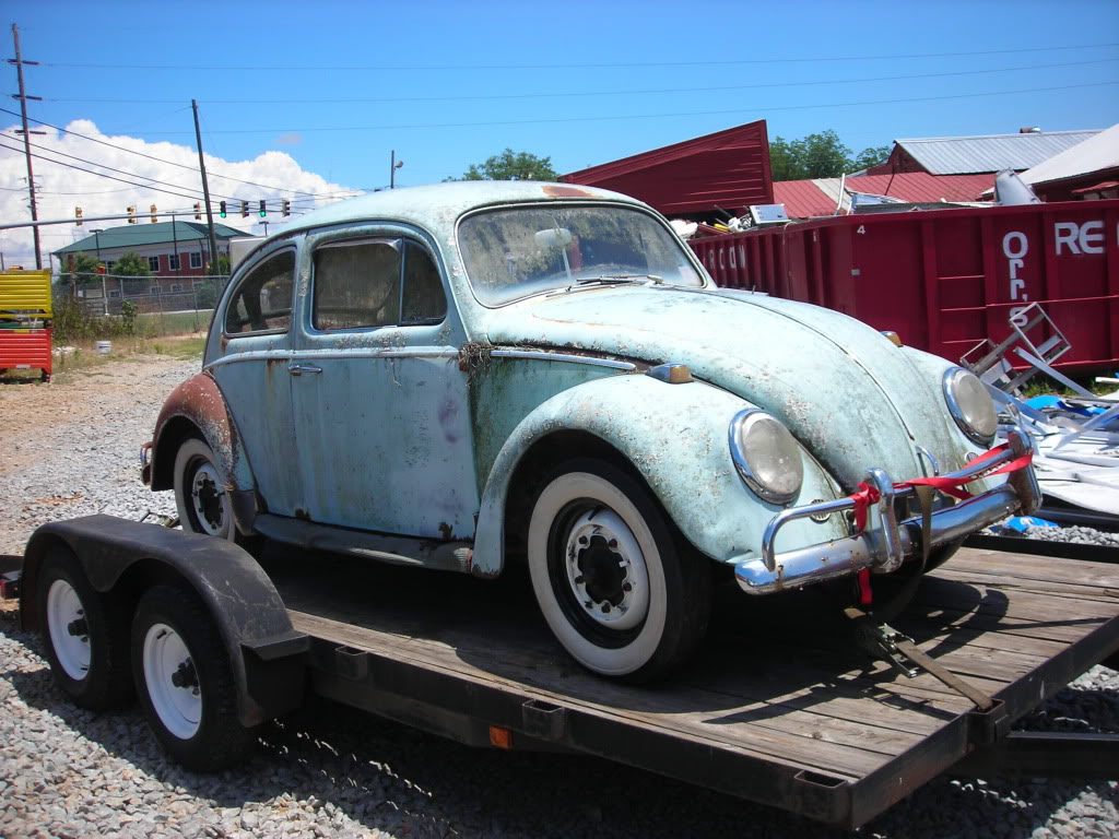 What did you do to your volkswagen today? 64beetle8