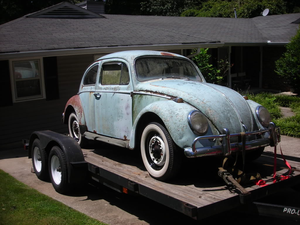 What did you do to your volkswagen today? 64beetle9